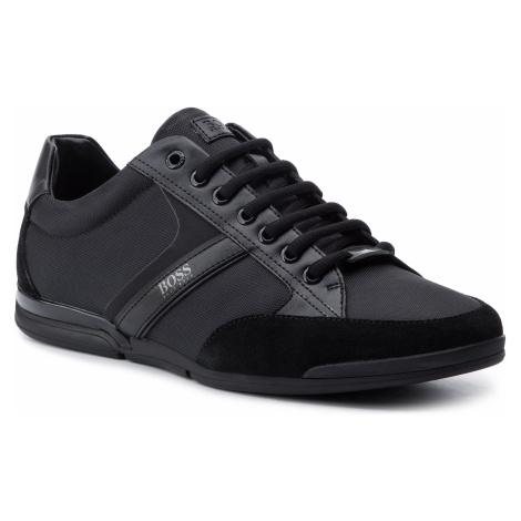 Sneakersy BOSS - Saturn 50407672 10216105 01 Black 001 Hugo Boss