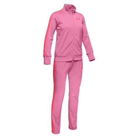 Komplet Under Armour EM Knit Track Suit-PNK