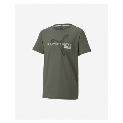 Puma Koszulka dziecięce Zielony