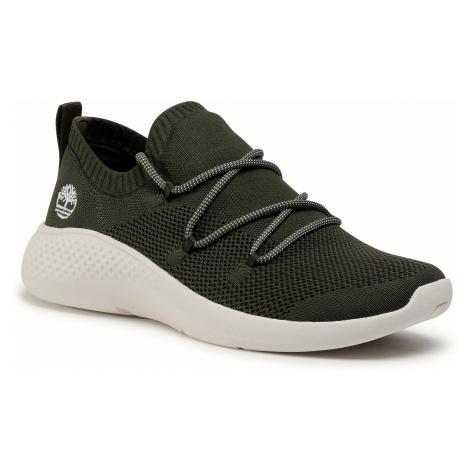 Sneakersy TIMBERLAND - FlyRoam Go Stohi Oxford TB0A1Z7EA58 Dark Green Knit
