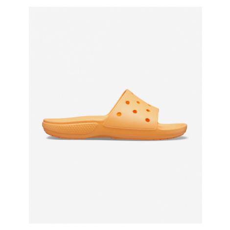 Crocs Classic Kapcie Pomarańczowy