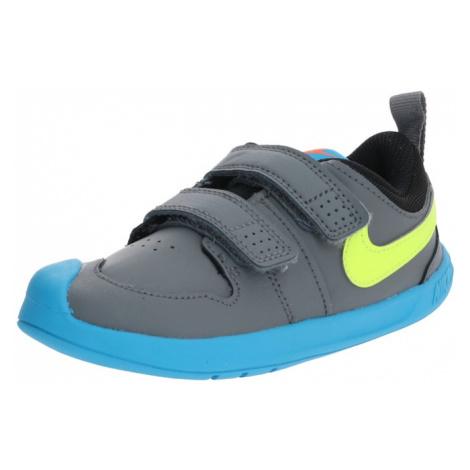 Nike Sportswear Sandały 'PICO 5' jabłko / niebieski / szary