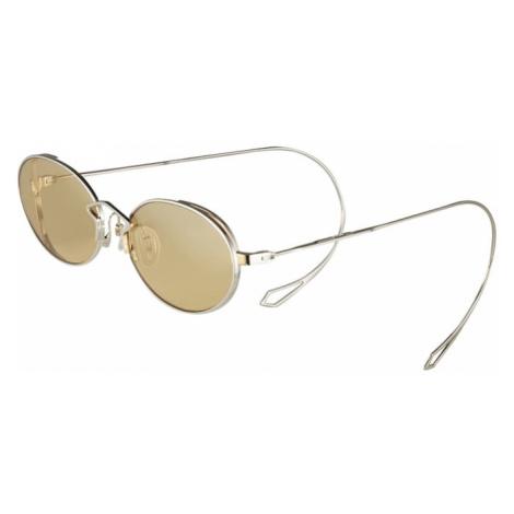 McQ Alexander McQueen Okulary przeciwsłoneczne 'MQ0272SA' żółty / srebrny