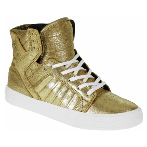 buty Supra Skytop - Gold/Black/White
