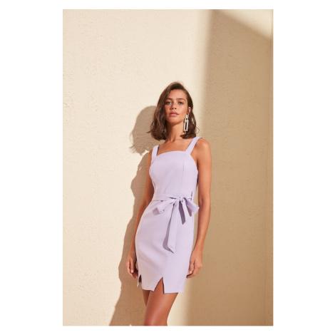 Women's dress Trendyol Slit detailed