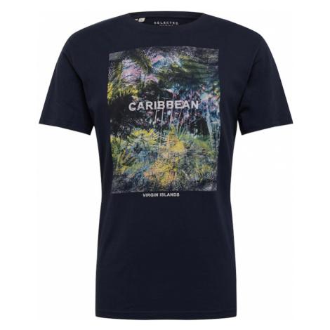 SELECTED HOMME Koszulka ciemny niebieski