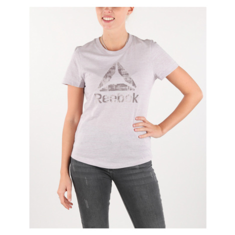 Reebok Koszulka Fioletowy