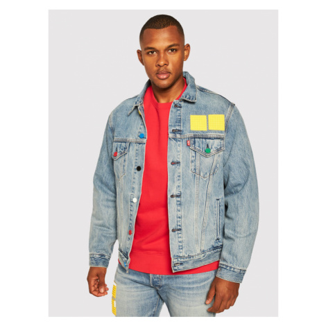 Levi's® Kurtka jeansowa LEGO 77380-0023 Niebieski Regular Fit Levi´s