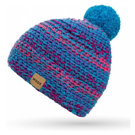 Czapka Merino Unisex |Handmade| Niebieska Meri Koral Beanie Woox