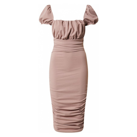 AX Paris Sukienka różowy pudrowy