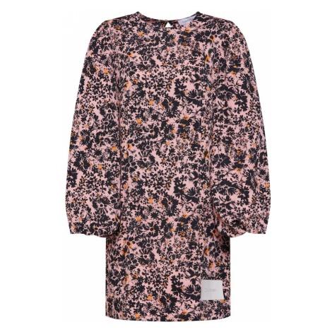 Calvin Klein Sukienka 'PUFF' mieszane kolory / różowy pudrowy