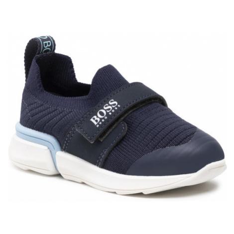 Boss Sneakersy J09151 S Granatowy Hugo Boss