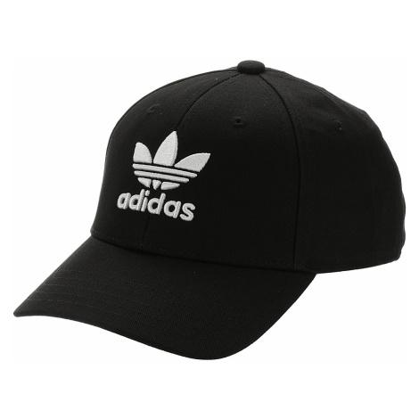 czapka z daszkiem adidas Originals Baseball Classic Trefoil - Black/White
