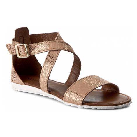 Sandały KAZAR - Lucy 27136-08-03 Beżowy