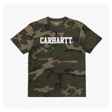 Koszulka męska Carhartt WIP College I024772 Camo Laurel