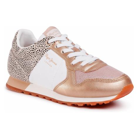 Sneakersy PEPE JEANS - Verona PLS30982 Pink 325