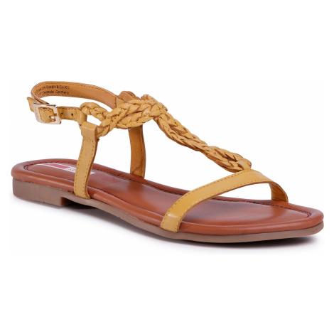 Sandały S.OLIVER - 5-28106-24 Yellow 600