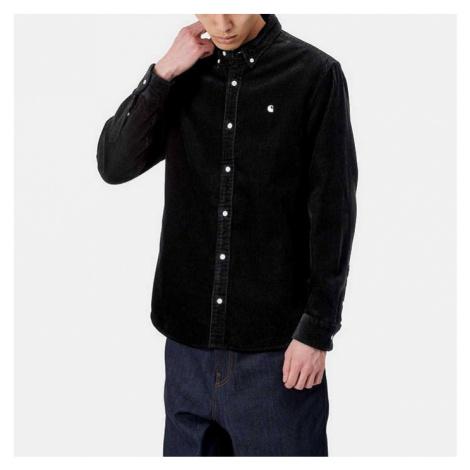 Koszula męska Carhartt WIP L/S Madison Cord Shirt I025247 BLACK/WAX