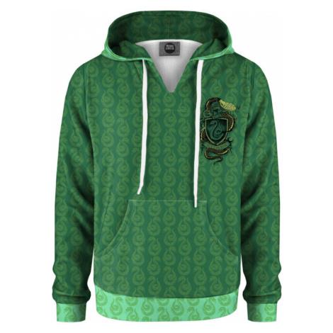 Mr. GUGU & Miss GO Kolorowa bluza z kapturem dla dzieci Slytherin KH-K HP021