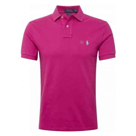 POLO RALPH LAUREN Koszulka 'SSKCSLM1-SHORT SLEEVE-KNIT' purpurowy