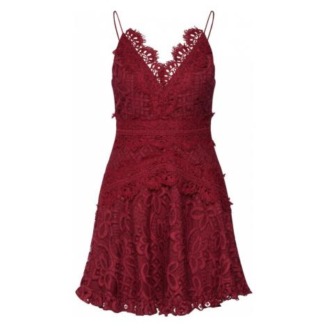 Love Triangle Sukienka koktajlowa 'Passion Pop Dress' bordowy