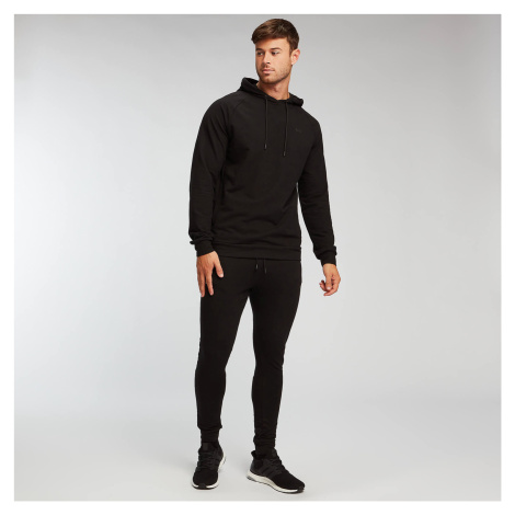 Męska wciągana bluza z kapturem Form MP – czarna