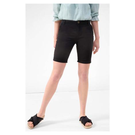 Bawełniane spodnie bermudy Orsay