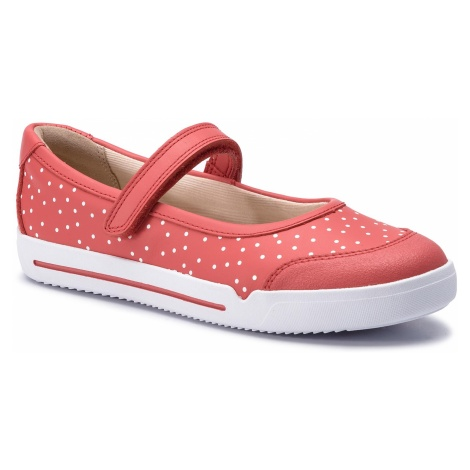 Półbuty CLARKS - Emery Halo K 261411566 Coral Leather
