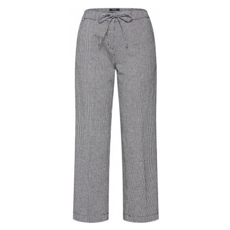 OPUS Spodnie 'Mauri vichy SP' czarny / biały