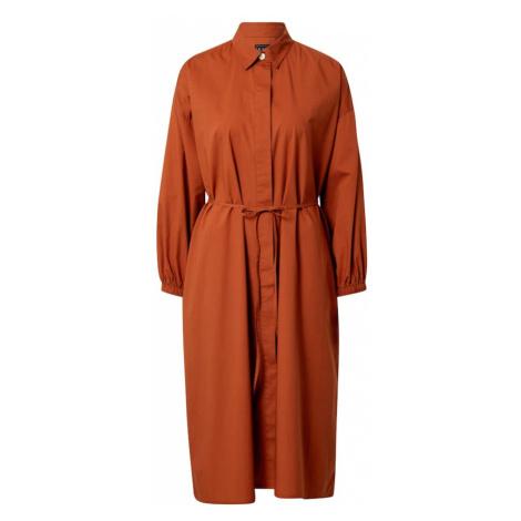 GAP Sukienka koszulowa brązowy