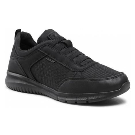 Geox Sneakersy U Monreale C U15BVC 01106 C9999 Czarny