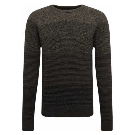 INDICODE JEANS Sweter 'Bantry' szary