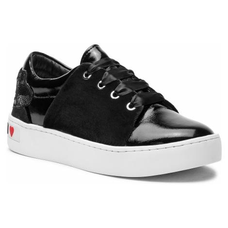Sneakersy LOVE MOSCHINO - JA15283G06JE0000 Sint.Nero