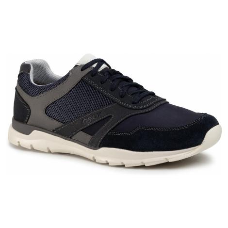 Sneakersy GEOX - U Calar A U022GA 0AU11 C4002 Navy