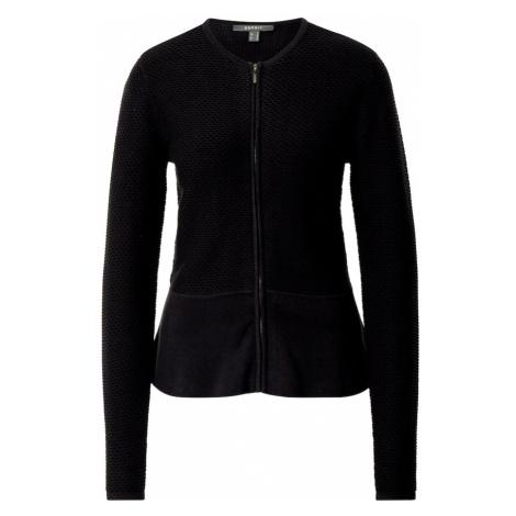 Esprit Collection Kardigan 'Peplom' czarny