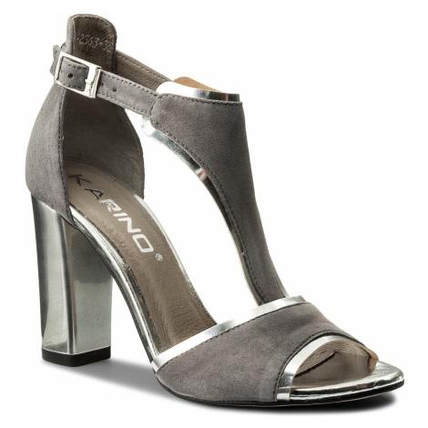 Sandały KARINO - 2563/002-P Szary
