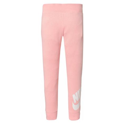 Nike Sportswear Spodnie 'Futura' srebrny / koralowy