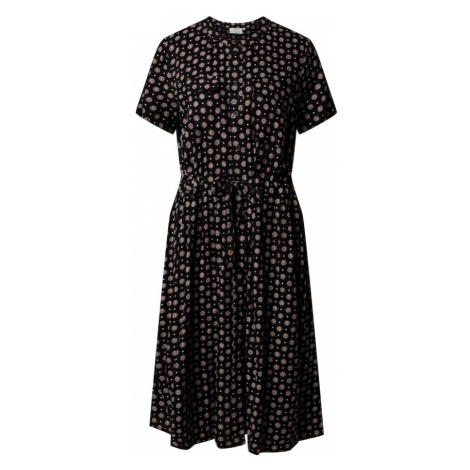 Kaffe Sukienka 'KArutie' beżowy / czarny
