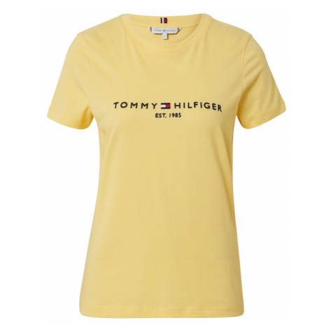 TOMMY HILFIGER Koszulka żółty