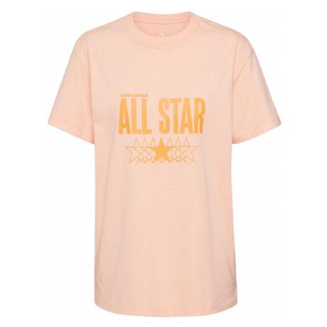 CONVERSE Koszulka różowy pudrowy