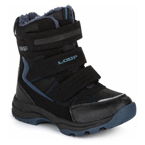 SNEEKY dziecięce buty zimowe czarne LOAP