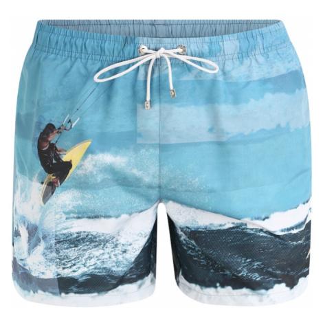 BOSS Szorty kąpielowe 'Springfish' niebieski Hugo Boss