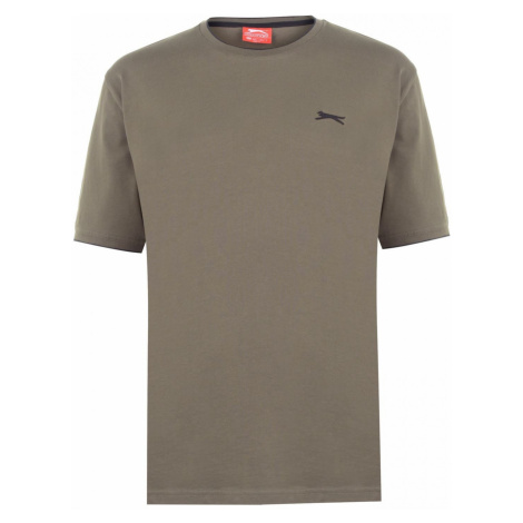 Slazenger Tipped T Shirt Mens
