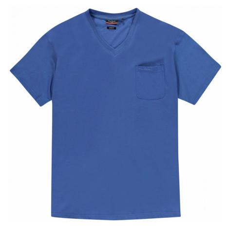 Pierre Cardin Plus Size V Neck T Shirt Mens