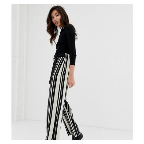 River Island striped wide leg trousers