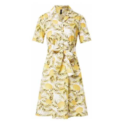 Y.A.S Sukienka żółty / jasnozielony / biały