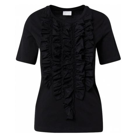 VILA Koszulka 'Rilla' czarny