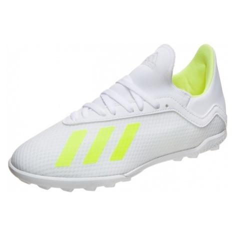 ADIDAS PERFORMANCE Buty sportowe 'X 18.3 TF' neonowo-żółty / biały
