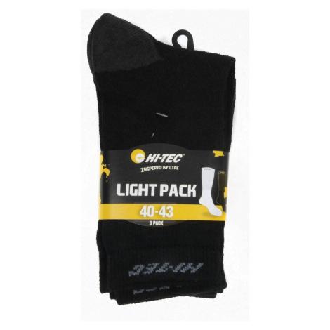 HI-TEC Skarpety LIGHT PACK-Czarny-44-47