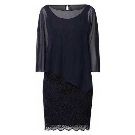 Sukienka koktajlowa z koronki z obszyciem szyfonem Vera Mont